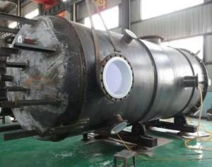 Anticorrosion lining tank