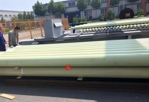 GRE pipe high-pressure fiberglass pipeline Class Anhydride and Class  Amine