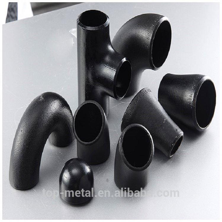 16 इंच ASME B16.9 DN400 30 डिग्री कार्बन स्टील पाइप कोहनी