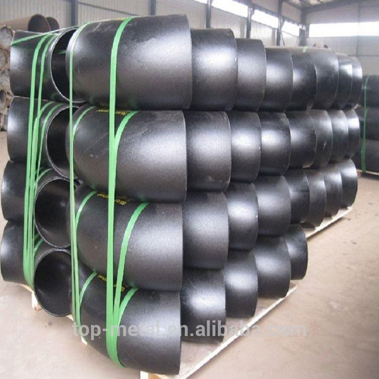 180 डिग्री 3000lb SCH40 कार्बन स्टील पाइप कोहनी