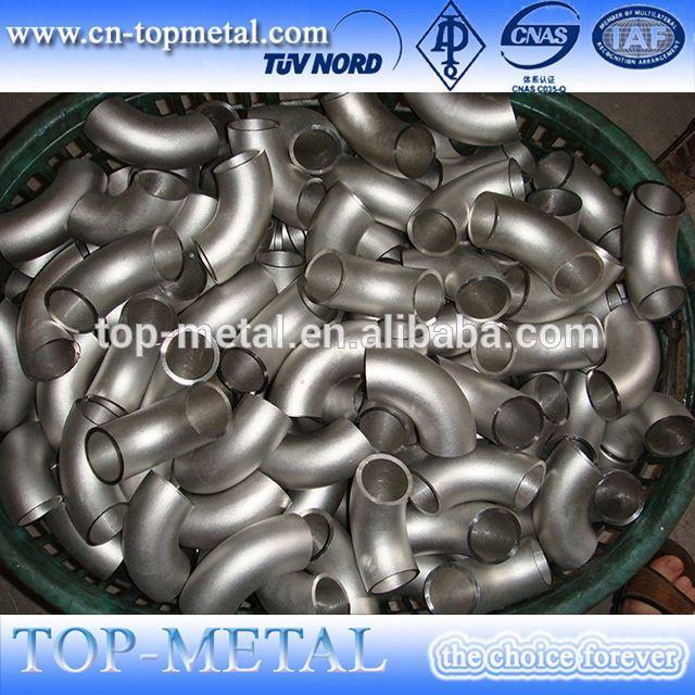 304l bw de acero inoxidable precio codo