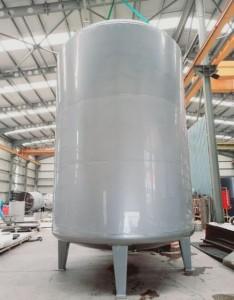 Anticorrosion PTFE lined movable tank