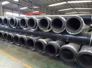 ID500mm Hdpe dredging pipe pe100