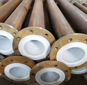 Carbon Steel PTFE Line Pipe Tube Steel-Lined Tetrafluoro Pipe