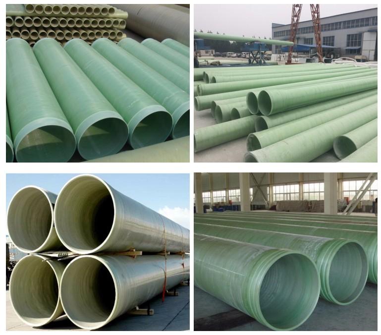 High strengh frp pipe grp pipe fiberglass pipe Featured Image