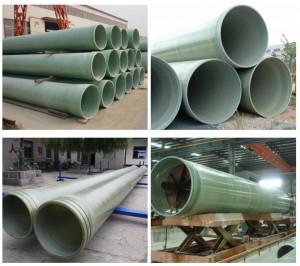 High strengh frp pipe grp pipe fiberglass pipe