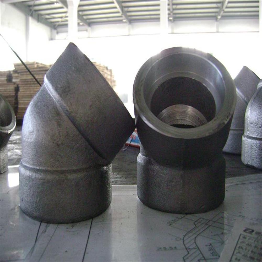 a105 socket welded carbon steel pipe fittings