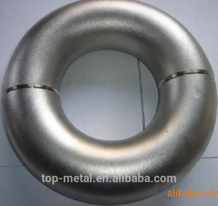 a234 wpb थट्टेचा विषय पाईप लाईन / कार्बन स्टील पाइप फिटिंग sch40 साठी कोपर welded