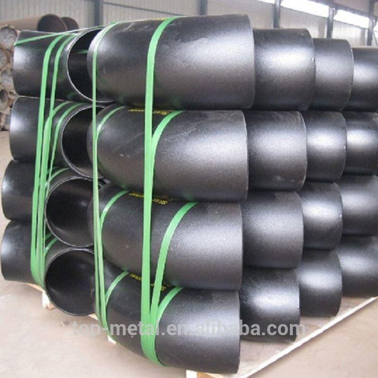 ANSI B16.9 30 gradi tubo in acciaio al carbonio a gomito