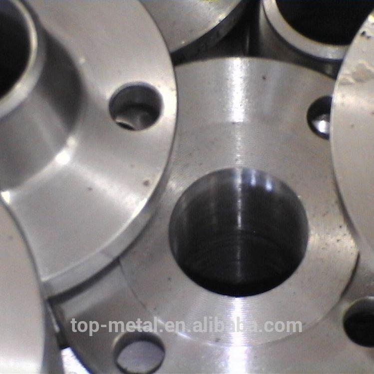 asme astm a105n steel weld neck flange