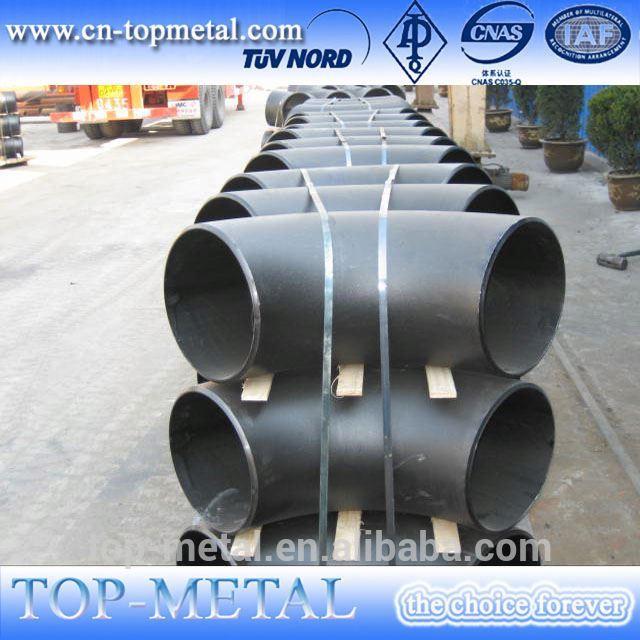 asme b16.9 /din/sgp/en standard lr 90 degree carbon steel pipe elbow