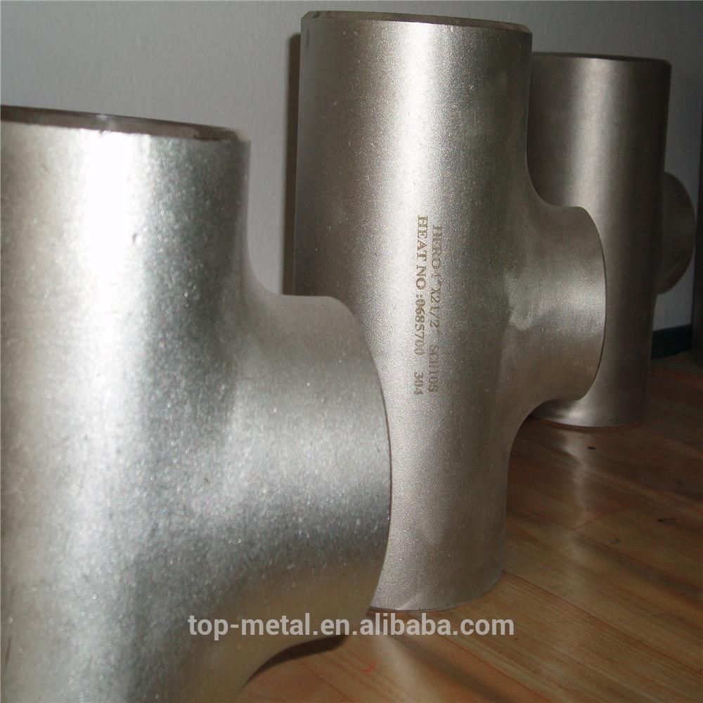 asme b16.9 butt welding mild steel pipe fittings