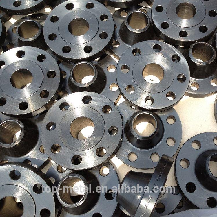 astm a105n steel weld neck flange