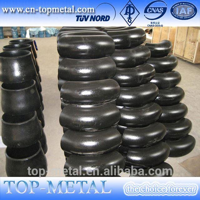 ASTM wPb 234 carbon steel seamless elbow 45 derece