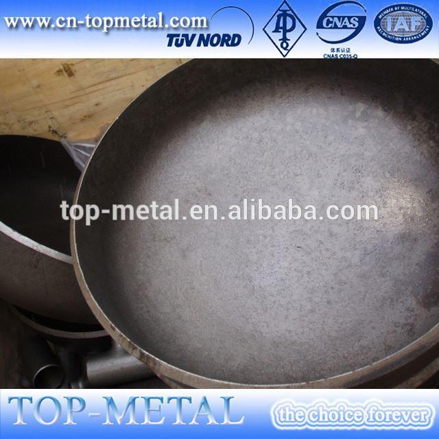 carbon steel butt weld pipe cap