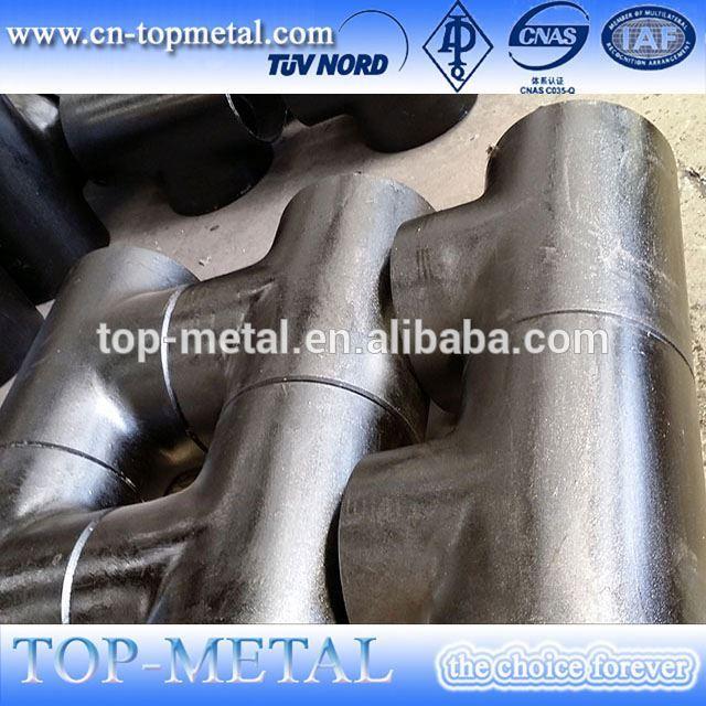 carbon steel equal tee straight tee