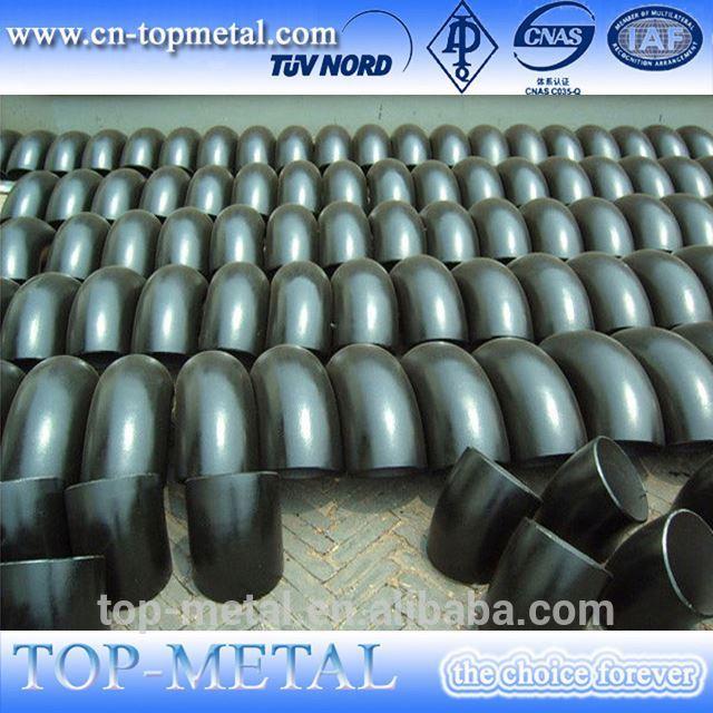 vysokotlakový uhlíkovej ocele kované tvarovka rozmer
