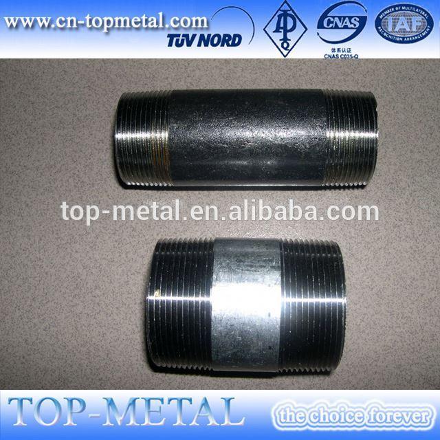 hot selling carbon steel thread nipple