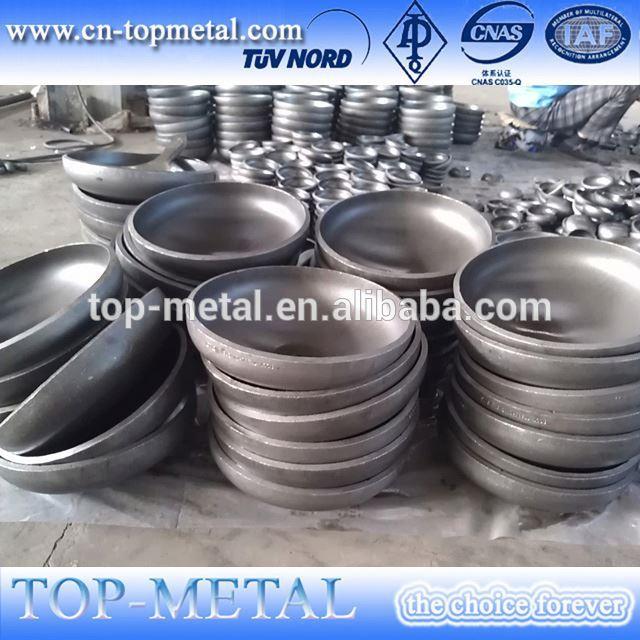 large diameter pipe cap